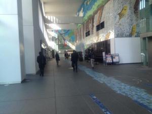 Internet Week 2012の会場1F