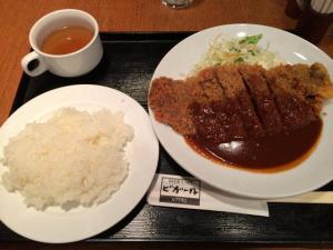 昼食 in 淀屋橋